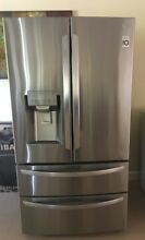 27 8 cu  ft  French Door Smart Refrigerator with WiFi Enabled in Stainless Steel