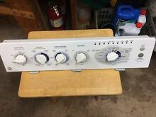 GE WASHER CONTROL PANEL  COMPLETE ASSEMBLY  WWSE6260B2WW