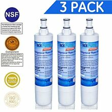 Icepure RWF0500A Compatible With Whirlpool 4396508  4396510 Filter Refrigerator