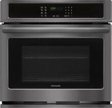 Frigidaire FFEW3026TD 30  4 6 cu  ft  Total Capacity Electric Single Wall Oven