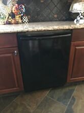 Bosch Dishwasher 24  Black under counter   unit rarely used