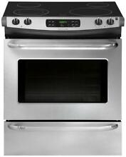 Frigidaire FFES3025PS 30  Slide in Electric Range  in Stainless Steel