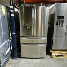 LG LMXC23746S 22 7CF Counter Depth French Door Refrigerator Stainless Steel