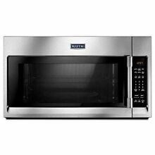 Maytag MMV4206FZ 2 0 cu  ft Over the Range  Microwave Stainless Steel