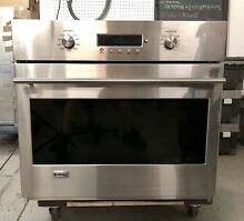 GE MONOGRAM 30  Built In Stainless Steel Electric Wall Oven Model zet1smss