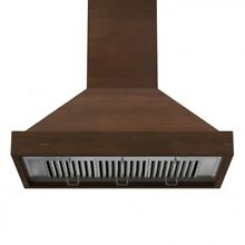 ZLINE 36  Designer Series Wooden Wall Range Hood with Crown Molding  KBRR 36 JI7