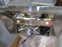 ZLine 587 36 Z Line 900 CFM Wall mount range hood 36   Stainless  MISSING FAN