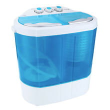 SUNCOO Mini Portable RV Compact 8 9lbs Washing Machine Washer Spin Dryer Laundry