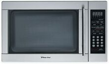 Magic Chef 1 3 cu  ft  Countertop Microwave Oven in Stainless Steel