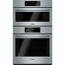 Bosch HBL8751UC 30  Stainless Speed Combo Wall Oven Microwave True Convection