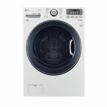 LG WM3770HWA 4 5CF 12 Cycle Front Loading Washer White