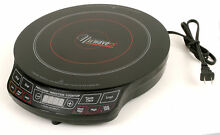 NuWave 2 Precision Induction Cooktop Electric Portable Model 30151AQ Black