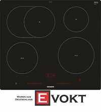 Siemens EH601LFC1E Frameless self sufficient cooking hob  induction  60 cm