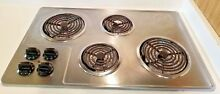 Frigidaire FFEC3205L Stainless Steel 32 25 in  Electric Electric Cooktop