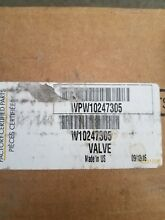 Brand New Whirlpool Washer Water Valve Part   W10247305