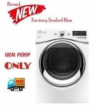 Whirlpool Duet  Electric Dryer with Quick Refresh WED94HEXW   LOCAL PICK UP ONLY