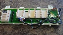 GE WASHER CONTROL PANEL PART   WH46X10184