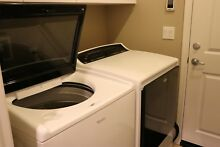 NEW WHIRLPOOL White Washer and Dryer Combo Set Front Top Energy Star Efficient