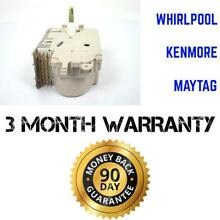 Whirlpool Washer Timer   PS11742046   Fits Kenmore  Roper  Estate  Maytag  More