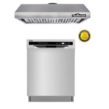 Thor Lycan 30  Stainless Steel Under Cabinet Hood  24inchdishwasher package