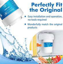 Waterdrop MWF Refrigerator Water Filter Replacement for GE MWF  MWFP  MWFA  GWF