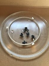 Genuine OEM Samsung Microwave Plate Glass Tray DE74 20002D Support Ring Coupler