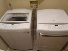 LG Washer and Dryer Set  electric  zero deductible service warranty active