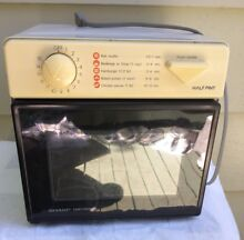 Sharp Half Pint Carousel II Household Microwave Oven Model R 1M53