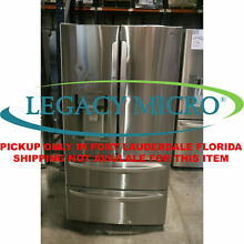 LG LMXS28626S 27 8 CF 4 Door French Door Refrigerator Stainless steel