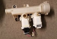 GE Front Load Washer Drain Pump and Housing Assy Part   WH23X10051  WH41X10345