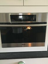 Miele Steam Oven DG4080 24in Electric Single Steam Oven