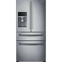 SAMSUNG RF4287HARS 28 15 CF 4 Door French Door Refrigerator in Stainless Steel