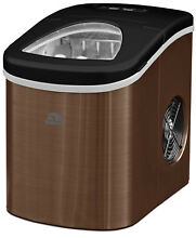 Igloo Ice Maker Copper Stainless Steel Cube Bar Auto Portable Machine Countertop
