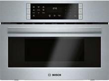 Bosch HMC87152UC 800 Series 27  Electric Oven Microwave Combo Single Wall Oven