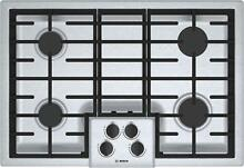 Bosch NGM5056UC 500 Series 30 Inch Gas Sealed Burner Cooktop