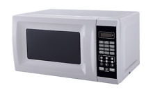 Microwave Oven Small Countertop White Compact Dorm Kitchen Grill Food Combo New