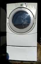 WHIRLPOOL DRYER DUET 60HZ MODEL GEW9250PWO GREAT WORKING CONDITION