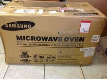 Samsung ME16H702SEW 1 6 Cu  Ft  1000W   Over the Range Microwave   White