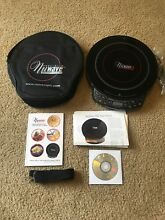 New  Never Used Hearthware Precision 12 in  Induction Induction Cooktop W  Case