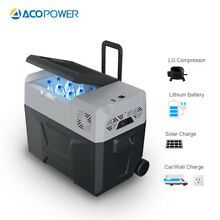ACOPOWER 40L Portable Car Fridge Refrigerator Freezer Cooler