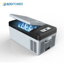 ACOPOWER 15L Portable Car Fridge Refrigerator Freezer Cooler Outdoor Camping
