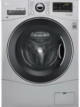 LG WM3477HS Gray All in One Washing Machine  Dryer Slightly Used Large Capacity