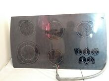 KITCHENAID KECC568GWH0 36  TOUCH CONTROL ELECTRIC COOKTOP STOVE