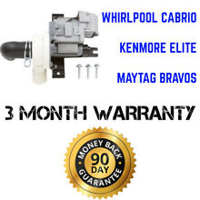 Whirlpool Kenmore Maytag W10281682 Washing Machine Drain Pump W10536347