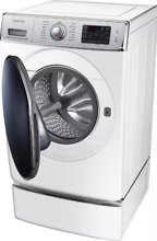 SAMSUNG 5 6 Cu Front Load Washer WF56H9100AW