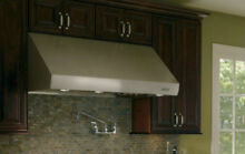 Wolf PW602418 Wall Mount Canopy Range Hood Infinite Speed Blower Control