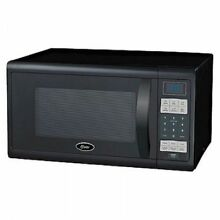 Oster 1 1CF 1100W Countertop Microwave Oven Black OGZJ1104