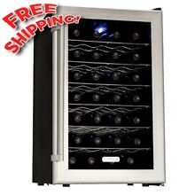 NEW  Koldfront 28 Bottle Ultra Capacity Thermoelectric Wine Cooler   Platinum