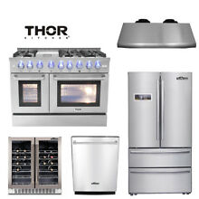 48  Range  24 Dishwasher 36  Refrigerator  Wine Cooler hood deals Thor kitchen