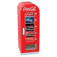 Kitchen Electric Small Cooling Appliances Coca Cola 10 Can Retro Vending Fridge